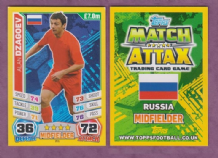 Russia Alan Dzagoev C.S.K.A Moscow 201